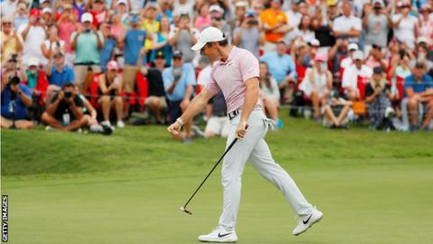 Tour Championship: Rory McIlroy wins by four shots to earn £12.2m