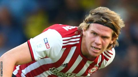 Mads Bech Sorensen has made two senior appearances for Brentford so far this season