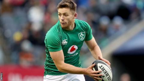 Ross Byrne has come off the bench for Ireland against Italy and the USA