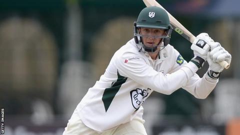 Worcestershire batsman Tom Kohler-Cadmore