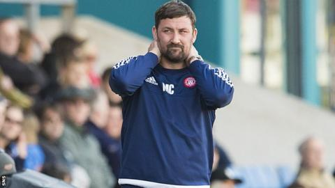 Hamilton manager Martin Canning