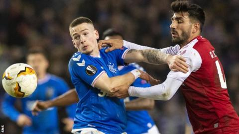 Ibrox star insists Rangers could've scored 'three or four' in Braga win