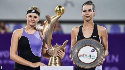Tomljanovic in Thailand Open final for 4th try at 1st title