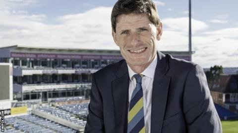 Steve Denison was chairman of Yorkshire County Cricket Club for three years
