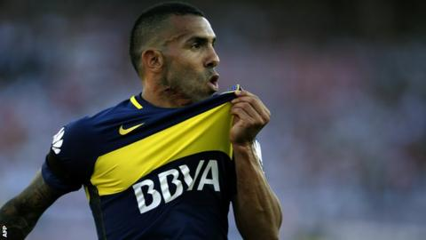 Carlos Tevez returns to Boca Juniors after unsuccessful spell with Shanghai Shenhua