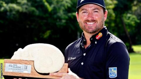 Graeme McDowell ended a mostly disappointing year on a high by beating Russell Knox and Jason Bohn in a play-off to win the OHL Classic in Mexico in November