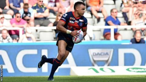 Wakefield Trinity: Winger Mason Caton-Brown rejoins