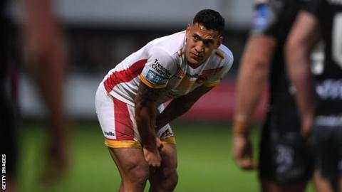 Super League and Catalans investigate rainbow flag ban at Israel Folau debut