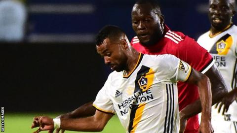 Cole has made 55 appearances for Los Angeles Galaxy
