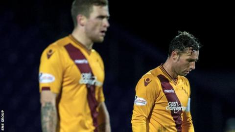 Motherwell are six points above bottom side Dundee United