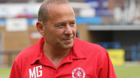 Mark Goldberg on the sidelines at Welling