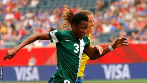Nigeria international defender Osinachi Ohale