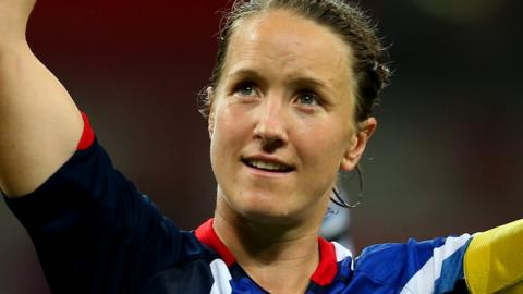 Casey Stoney was captain for Great Britain at the 2012 Olympics