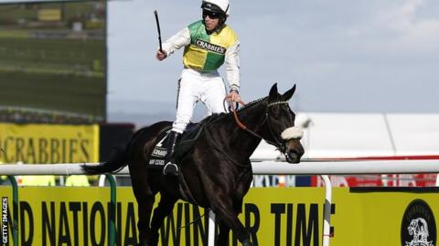 Leighton Aspell at Aintree