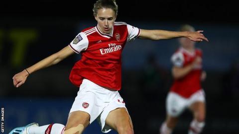 Women's Champions League: Slavia Prague 2-5 Arsenal - Vivianne Miedema scores four