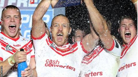 St Helens captain James Roby