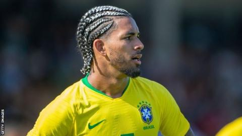 Villa agree deal with Manchester City for Brazilian midfielder Douglas Luiz
