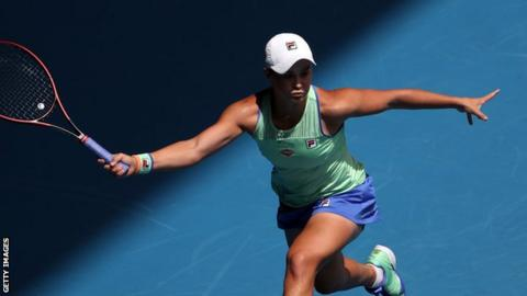 'A really tough one': Ashleigh Barty reaches Australian Open fourth round
