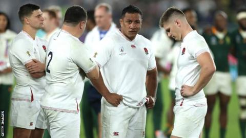 England players Owen Farrell and Mako Vunipola