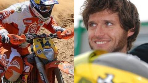 David Knight and Guy Martin
