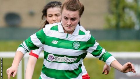 Celtic midfielder Kirsty Howat