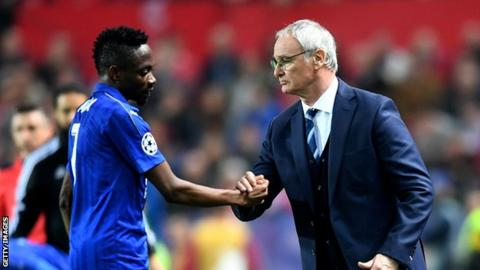 Ahmed Musa was signed by former Leicester City boss Claudio Ranieri