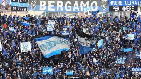 UEFA charge Atalanta for fans' racist chants at Batshuayi