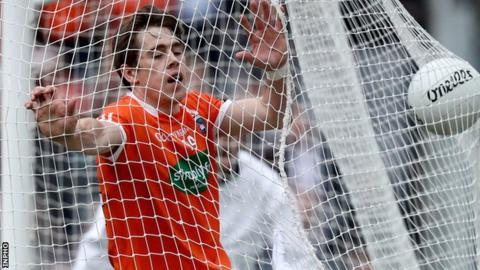 Andrew Murnin after walking the ball into Kildare's net last weekend