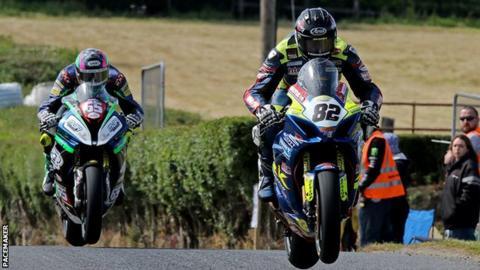 Derek Sheils secures double as Gary Dunlop wins at Kells road races