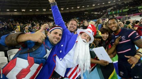 United States rugby fans