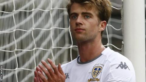 Leeds United fans react to Patrick Bamford against Preston North End