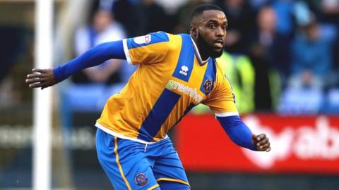Sylvan-Ebanks Blake failed to score in seven appearances on loan at Shrewsbury last season