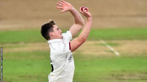 Somerset skipper Tom Abell had previously only taken six first-class wickets this season, but has now doubled that total in this match