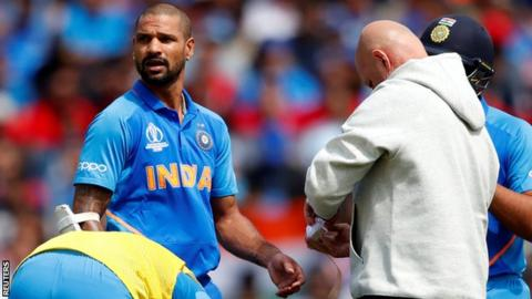 Injured Shikhar Dhawan Ruled Out Of World Cup, Rishabh Pant Replaces Him