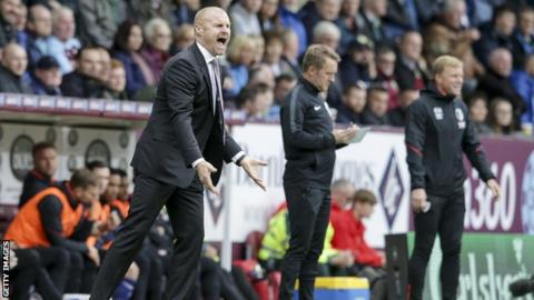 Diving in football needs to be stamped out says Burnley manager Sean Dyche