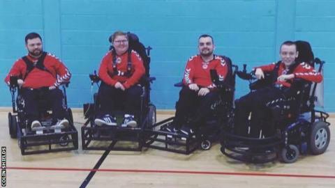 Clyde Powerchair FC team