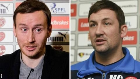 Ian Cathro and Martin Canning