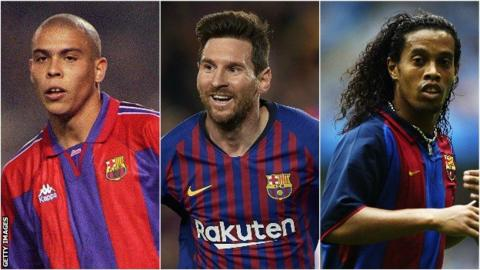 Ronaldo, Lionel Messi, Ronaldinho