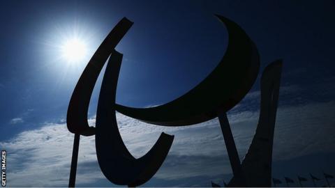 The Paralympics logo
