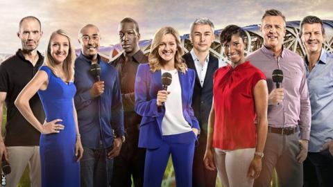 BBC World Athletics team