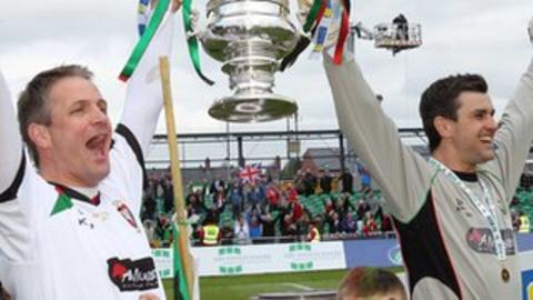 Colin Nixon and Elliott Morris have made a total of 1466 Glentoran appearances between them