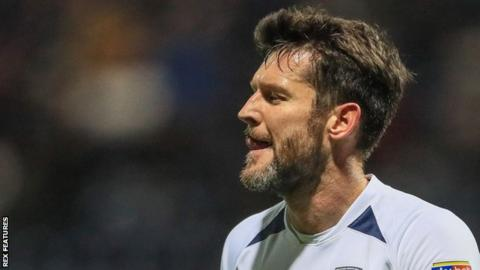 David Nugent scored his first goal for Preston since their 4-0 win against Coventry in April 2007