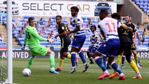 Brentford score against Reading