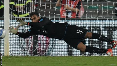 Donnarumma made his AC Milan debut at the age of 16 years and eight months