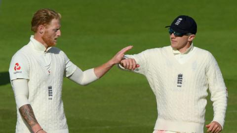Ben Stokes and Dom Bess