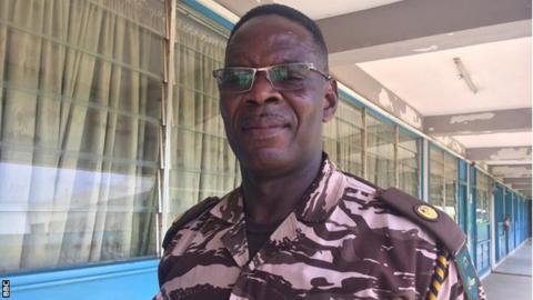 Ghana Prisons Service spokesman Vitalis Aiyeh