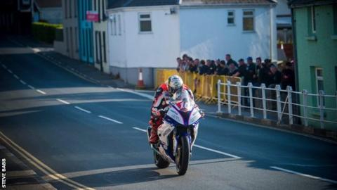 Hickman has never had a race win at the Isle of Man TT