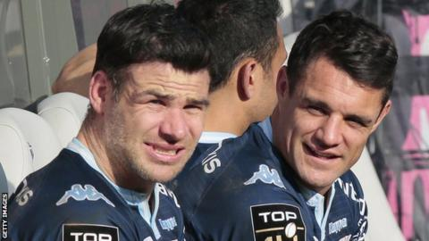 Mike Phillips and Dan Carter