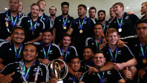 New Zealand U20 rugby team