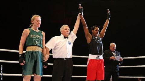 Natasha Gale won the England Boxing Elite National Championships earlier this year